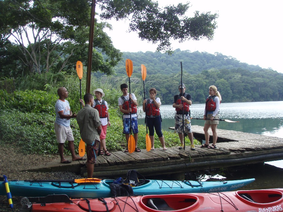 Costa Rica White Water Kayak Tours