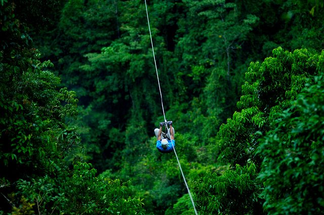 Jaco Beach Zip Line Tours