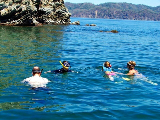 Snorkeling Tortuga Island Costa Rica